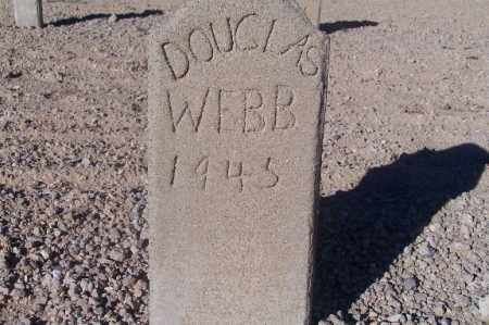 WEBB, DOUGLAS - Mohave County, Arizona   DOUGLAS WEBB - Arizona Gravestone Photos