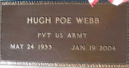WEBB, HUGH POE - Mohave County, Arizona | HUGH POE WEBB - Arizona Gravestone Photos