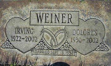 WEINER, DOLORES - Mohave County, Arizona   DOLORES WEINER - Arizona Gravestone Photos