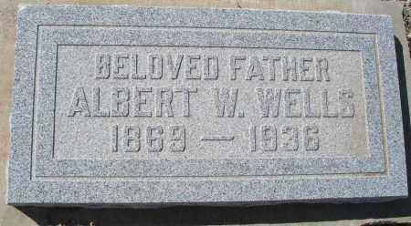 WELLS, ALBERT W. - Mohave County, Arizona | ALBERT W. WELLS - Arizona Gravestone Photos