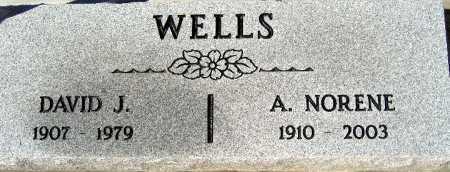 WELLS, A. NORENE - Mohave County, Arizona | A. NORENE WELLS - Arizona Gravestone Photos