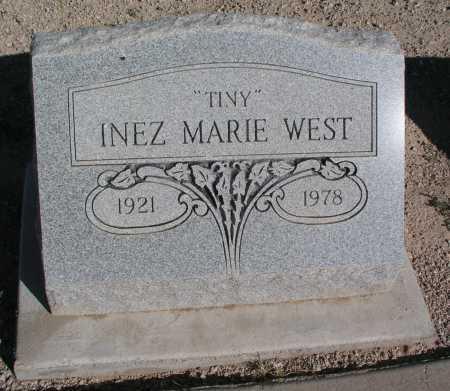 """WEST, INEZ MARIE """"TINY"""" - Mohave County, Arizona   INEZ MARIE """"TINY"""" WEST - Arizona Gravestone Photos"""