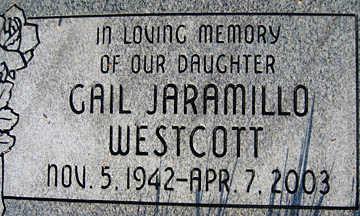 WESTCOTT, GAIL - Mohave County, Arizona | GAIL WESTCOTT - Arizona Gravestone Photos