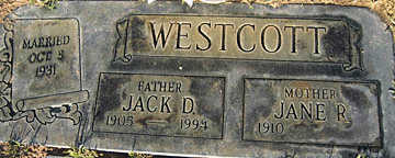 WESTCOTT, JANE R - Mohave County, Arizona | JANE R WESTCOTT - Arizona Gravestone Photos