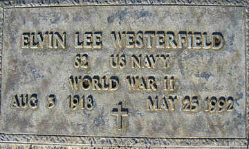 WESTERFIELD, ELVIN LEE - Mohave County, Arizona | ELVIN LEE WESTERFIELD - Arizona Gravestone Photos