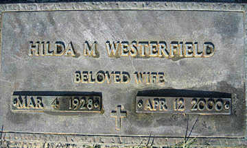 WESTERFIELD, HILDA M - Mohave County, Arizona | HILDA M WESTERFIELD - Arizona Gravestone Photos