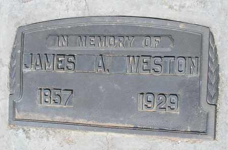 WESTON, JAMES A. - Mohave County, Arizona | JAMES A. WESTON - Arizona Gravestone Photos