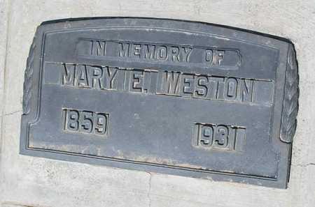 WESTON, MARY E. - Mohave County, Arizona | MARY E. WESTON - Arizona Gravestone Photos