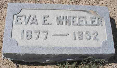 WHEELER, EVA E. - Mohave County, Arizona | EVA E. WHEELER - Arizona Gravestone Photos
