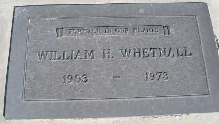 WHETNALL, WILLIAM H. - Mohave County, Arizona | WILLIAM H. WHETNALL - Arizona Gravestone Photos
