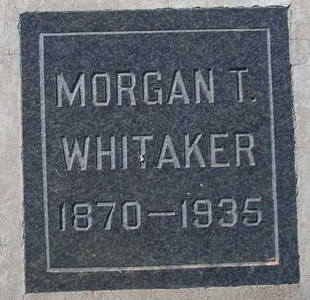 WHITAKER, MORGAN T. - Mohave County, Arizona | MORGAN T. WHITAKER - Arizona Gravestone Photos