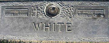 WHITE, DAVID B - Mohave County, Arizona   DAVID B WHITE - Arizona Gravestone Photos