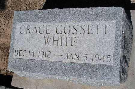 GOSSETT WHITE, GRACE - Mohave County, Arizona | GRACE GOSSETT WHITE - Arizona Gravestone Photos