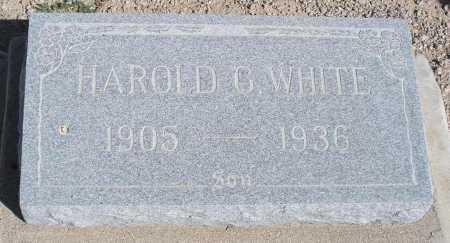 WHITE, HAROLD G. - Mohave County, Arizona | HAROLD G. WHITE - Arizona Gravestone Photos