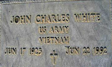 WHITE, JOHN CHARLES - Mohave County, Arizona | JOHN CHARLES WHITE - Arizona Gravestone Photos