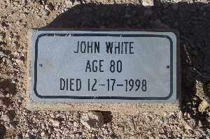 WHITE, JOHN - Mohave County, Arizona   JOHN WHITE - Arizona Gravestone Photos
