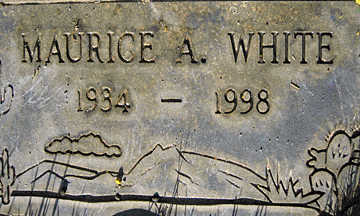 WHITE, MAURICE A - Mohave County, Arizona | MAURICE A WHITE - Arizona Gravestone Photos