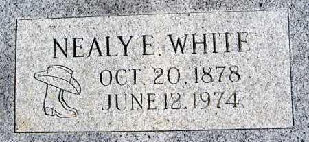 WHITE, NEALY E - Mohave County, Arizona | NEALY E WHITE - Arizona Gravestone Photos
