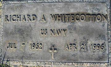 WHITECOTTON, RICHARD A - Mohave County, Arizona   RICHARD A WHITECOTTON - Arizona Gravestone Photos