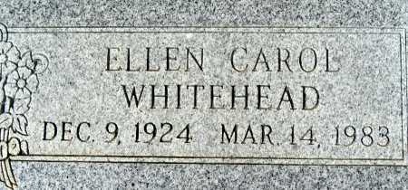 WHITEHEAD, ELLEN CAROL - Mohave County, Arizona   ELLEN CAROL WHITEHEAD - Arizona Gravestone Photos