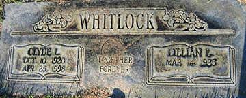 WHITLOCK, LILLIAN P - Mohave County, Arizona | LILLIAN P WHITLOCK - Arizona Gravestone Photos