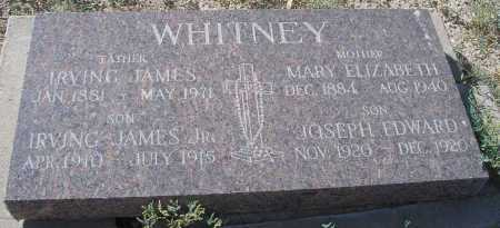 WHITNEY, IRVING JAMES - Mohave County, Arizona | IRVING JAMES WHITNEY - Arizona Gravestone Photos