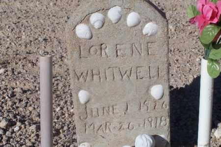 WHITWELL, LORENE - Mohave County, Arizona   LORENE WHITWELL - Arizona Gravestone Photos