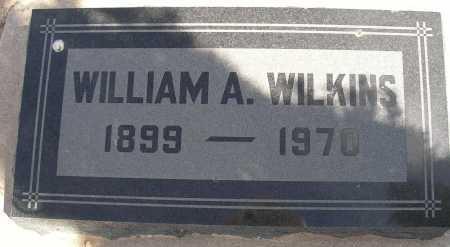 WILKINS, WILLIAMS A. - Mohave County, Arizona | WILLIAMS A. WILKINS - Arizona Gravestone Photos