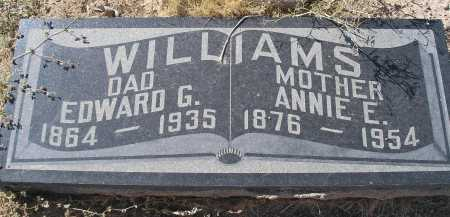WILLIAMS, ANNIE E. - Mohave County, Arizona | ANNIE E. WILLIAMS - Arizona Gravestone Photos