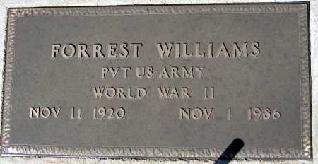WILLIAMS, FORREST - Mohave County, Arizona | FORREST WILLIAMS - Arizona Gravestone Photos