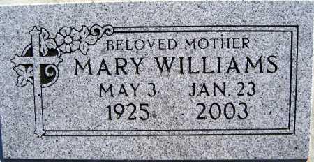 WILLIAMS, MARY - Mohave County, Arizona | MARY WILLIAMS - Arizona Gravestone Photos