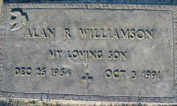 WILLIAMSON, ALAN R - Mohave County, Arizona   ALAN R WILLIAMSON - Arizona Gravestone Photos