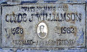 WILLIAMSON, CLYDE J - Mohave County, Arizona | CLYDE J WILLIAMSON - Arizona Gravestone Photos
