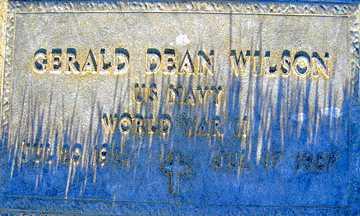 WILSON, GERALD DEAN - Mohave County, Arizona   GERALD DEAN WILSON - Arizona Gravestone Photos