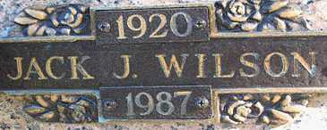 WILSON, JACK J - Mohave County, Arizona | JACK J WILSON - Arizona Gravestone Photos