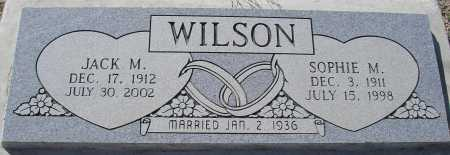 WILSON, SOPHIE M. - Mohave County, Arizona | SOPHIE M. WILSON - Arizona Gravestone Photos