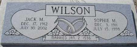 WILSON, SOPHIE M. - Mohave County, Arizona | SOPHIE M. WILSON - Arizona Gravestone Photos
