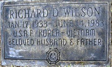 WILSON, RICHARD D - Mohave County, Arizona | RICHARD D WILSON - Arizona Gravestone Photos