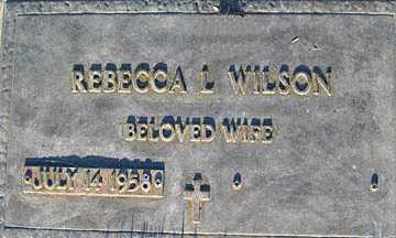 WILSON, REBECCA L - Mohave County, Arizona | REBECCA L WILSON - Arizona Gravestone Photos