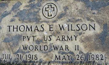 WILSON, THOMAS E - Mohave County, Arizona | THOMAS E WILSON - Arizona Gravestone Photos