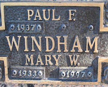 WINDHAM, MARY W - Mohave County, Arizona | MARY W WINDHAM - Arizona Gravestone Photos
