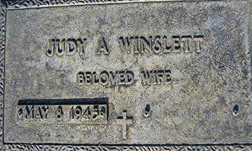 WINSLETT, JUDY A - Mohave County, Arizona | JUDY A WINSLETT - Arizona Gravestone Photos
