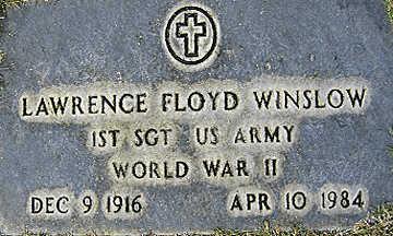 WINSLOW, LAWRENCE FLOYD - Mohave County, Arizona | LAWRENCE FLOYD WINSLOW - Arizona Gravestone Photos