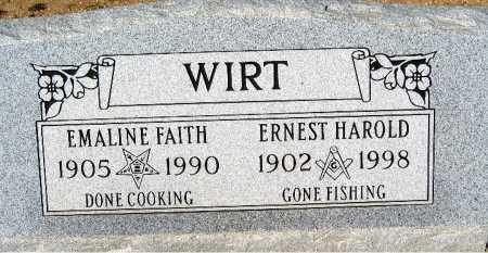 WIRT, ERNEST HAROLD - Mohave County, Arizona | ERNEST HAROLD WIRT - Arizona Gravestone Photos