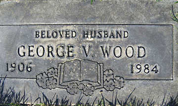 WOOD, GEORGE V - Mohave County, Arizona | GEORGE V WOOD - Arizona Gravestone Photos