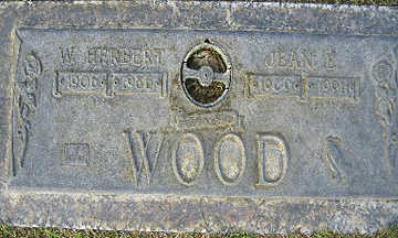 WOOD, W. HERBERT - Mohave County, Arizona | W. HERBERT WOOD - Arizona Gravestone Photos