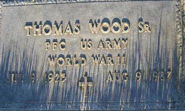 WOOD SR., THOMAS - Mohave County, Arizona | THOMAS WOOD SR. - Arizona Gravestone Photos