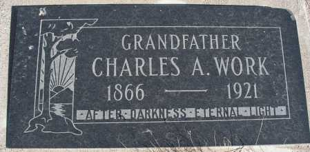 WORK, CHARLES A. - Mohave County, Arizona   CHARLES A. WORK - Arizona Gravestone Photos