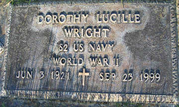 WRIGHT, DOROTHY LUCILLE - Mohave County, Arizona | DOROTHY LUCILLE WRIGHT - Arizona Gravestone Photos