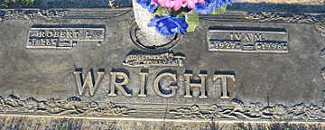 WRIGHT, IVA M - Mohave County, Arizona | IVA M WRIGHT - Arizona Gravestone Photos